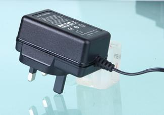 Plug In 24 Volt Wall Adapter , 24 W 24 Volt Ac Dc Adapter For CCTV System